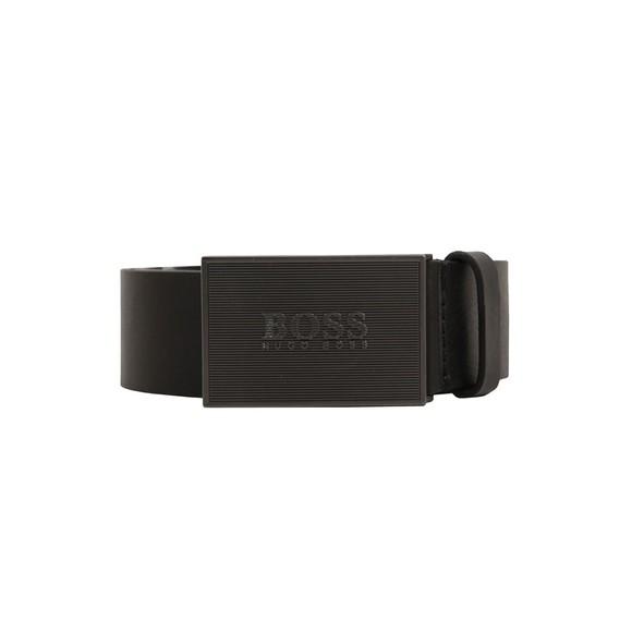 BOSS Mens Black Icon Belt