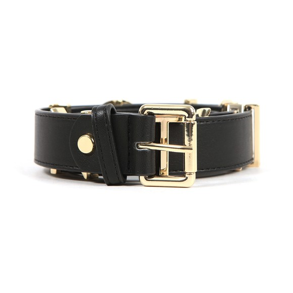 Valentino Bags Womens Black Emma Winter Wide Belt