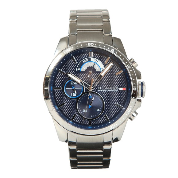Tommy Hilfiger Mens Silver 1791348 Watch main image