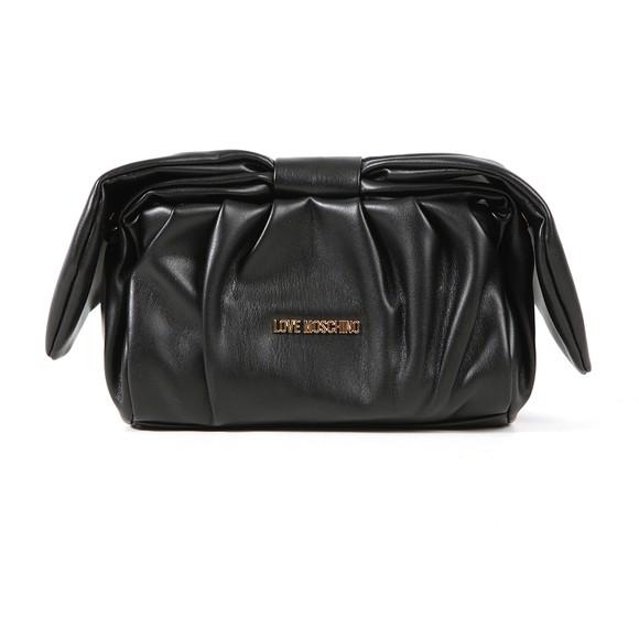Love Moschino Womens Black Ruffle Bag main image