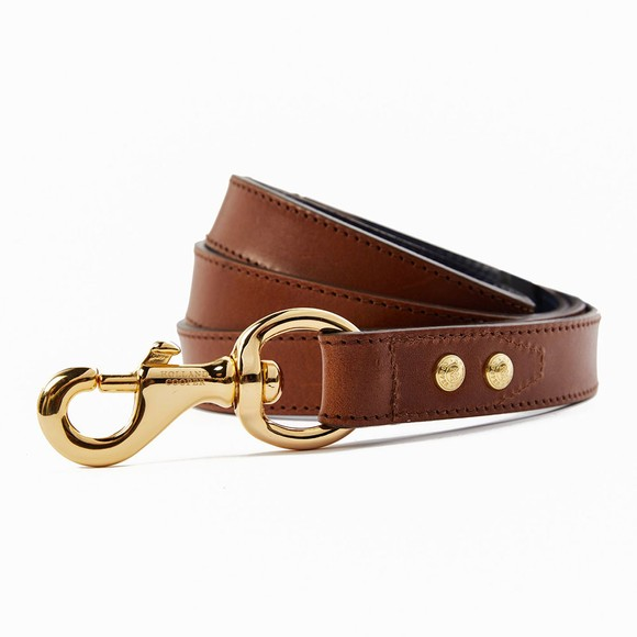 Holland Cooper Womens Brown Classic Dog Lead main image