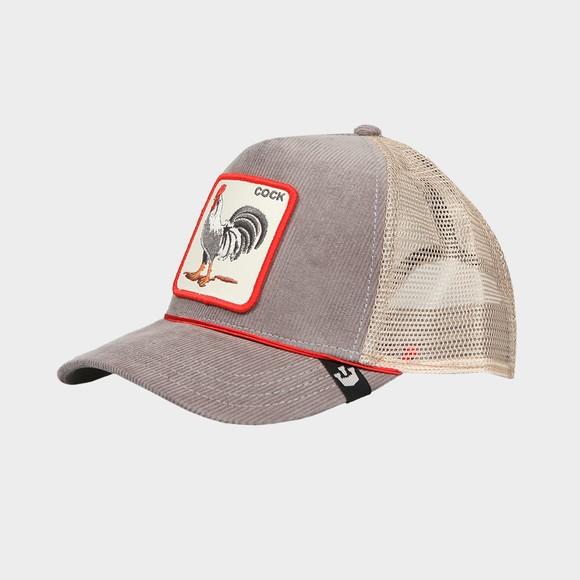 Goorin Bros. Mens Grey New Trucker Cap