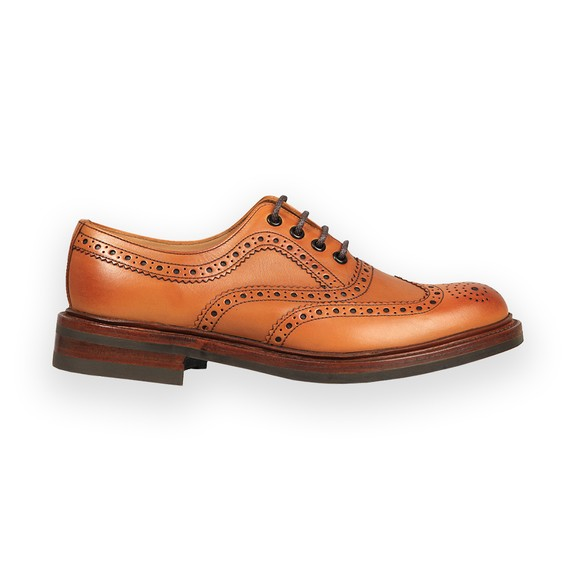 Loake Mens Brown Edward Brogue Shoe