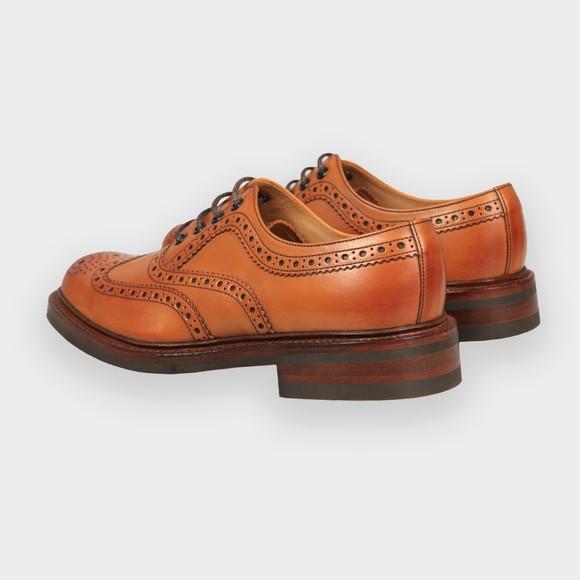 Loake Mens Brown Edward Brogue Shoe main image