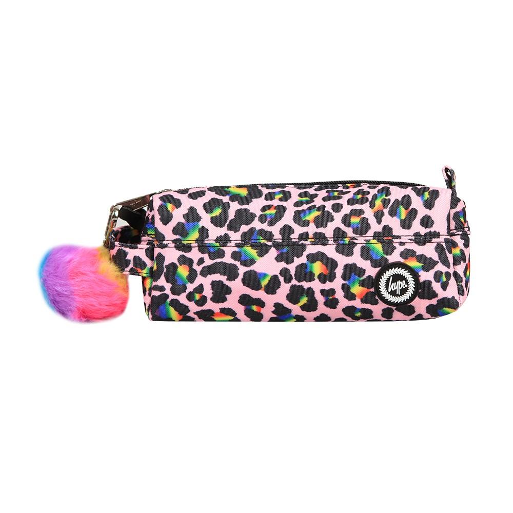Rainbow Leopard Pencil Case main image