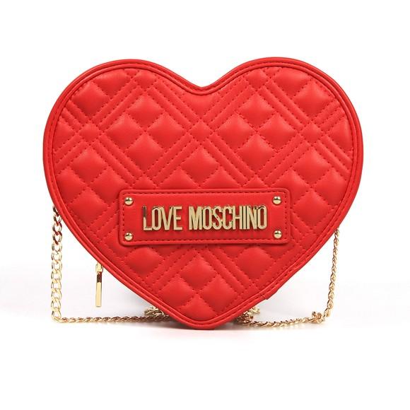 Love Moschino Womens Red Heart Bag main image