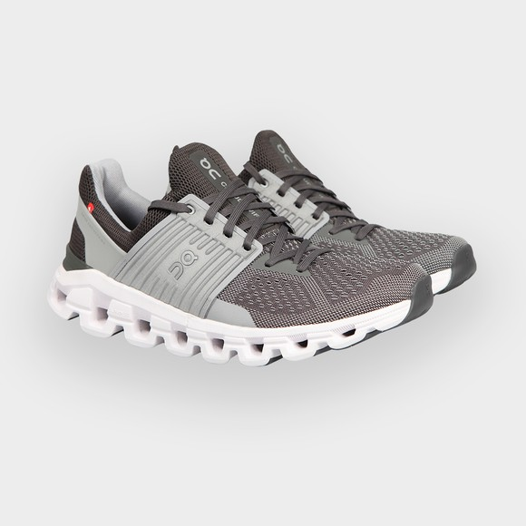 On Running Mens Grey Cloudswift Trainer