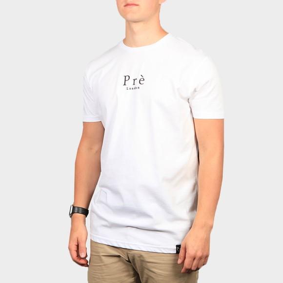 Pre London Mens White Essential T-Shirt main image