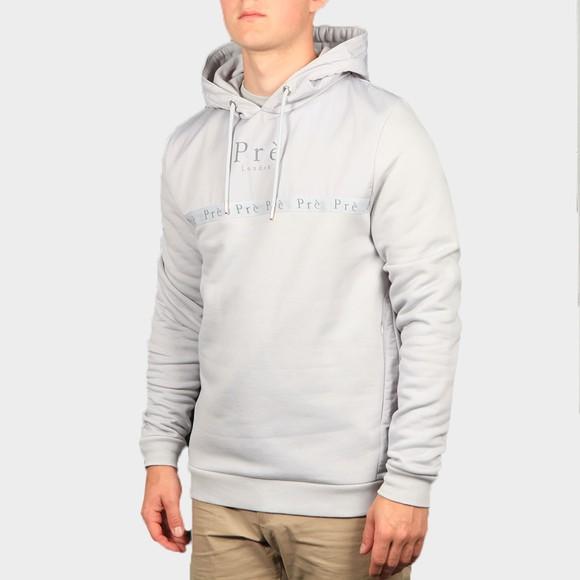 Pre London Mens Grey Belver Hooded Sweatshirt main image
