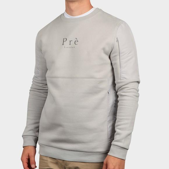 Pre London Mens Grey Belver Sweatshirt