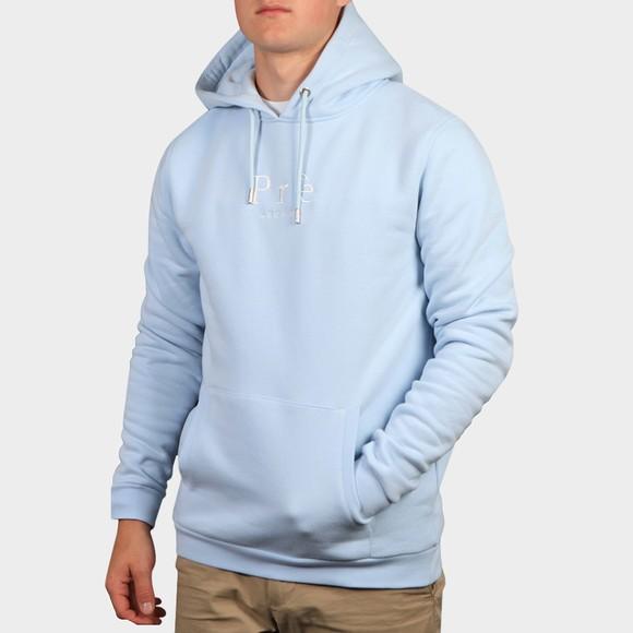 Pre London Mens Blue Essential Hooded Sweatshirt main image