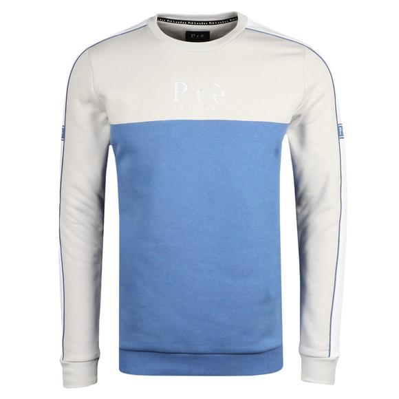 Pre London Mens Blue Peturo Sweatshirt