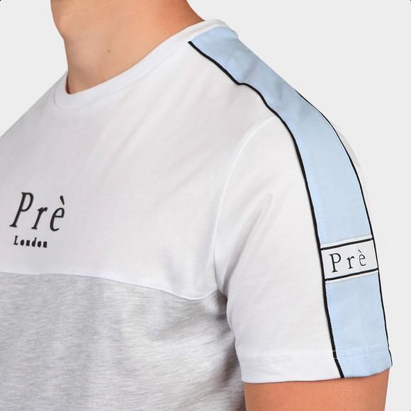 Pre London Mens White Peturo T-Shirt main image
