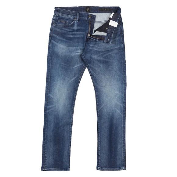 BOSS Mens Blue Formal Delaware 3 Slim Jean