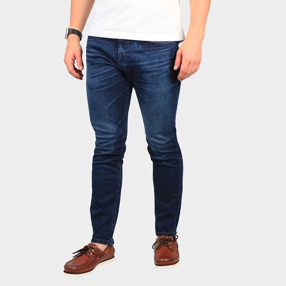 BOSS Mens Blue Casual Delaware BC Slim Jean