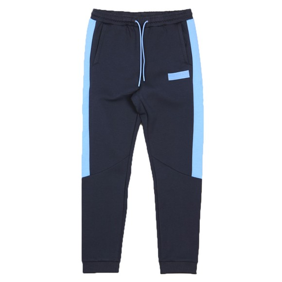 BOSS Mens Blue Athleisure Hadiko Batch Jogger