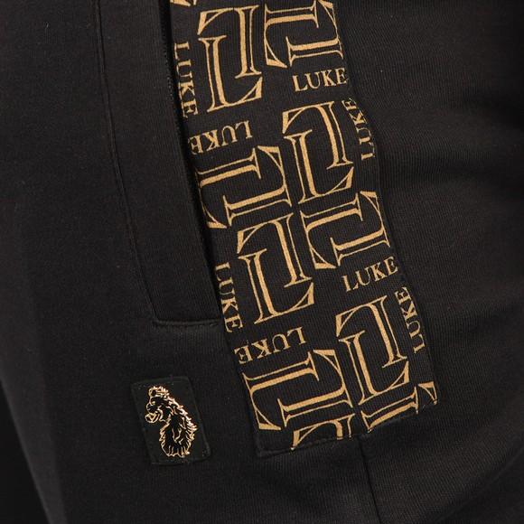 Luke Sport Mens Black Hibbitt Side Detail Jogger main image