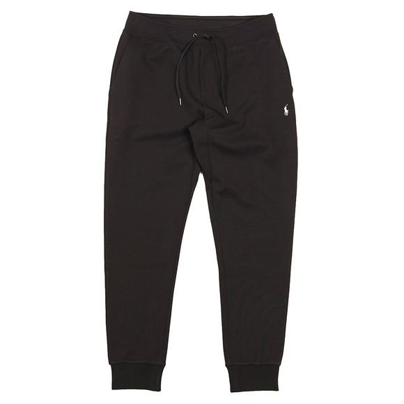Polo Ralph Lauren Mens Black Double Knit Tech Jogger