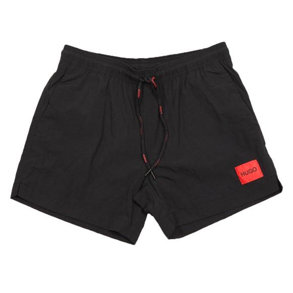 HUGO Mens Black Dominica Swim Short