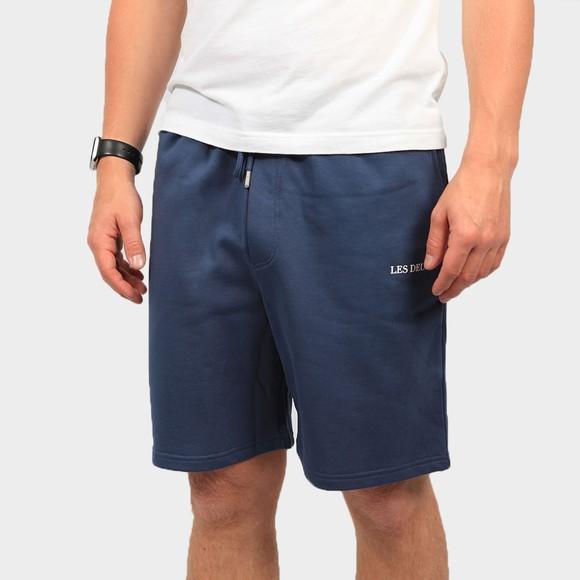Les Deux Mens Blue Lens Sweat Short