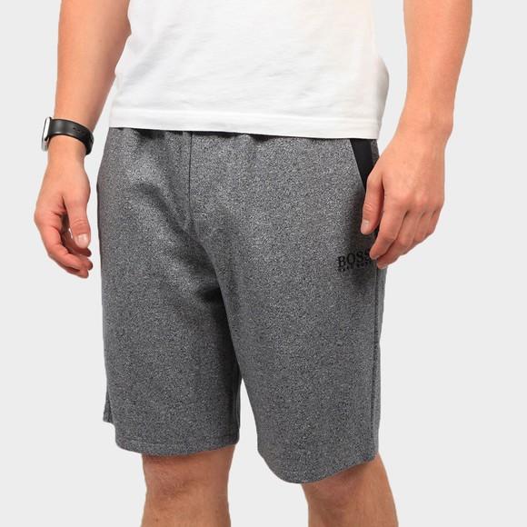 BOSS Bodywear Mens Blue Contemp Marl Jersey Short