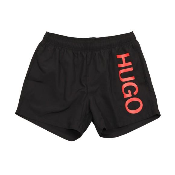 HUGO Mens Black Abas Swim Short