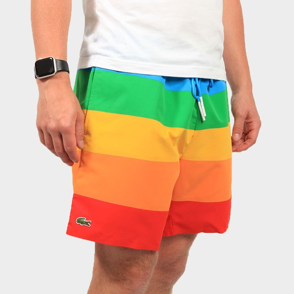 Lacoste Mens Multicoloured MH2261 Swim Short
