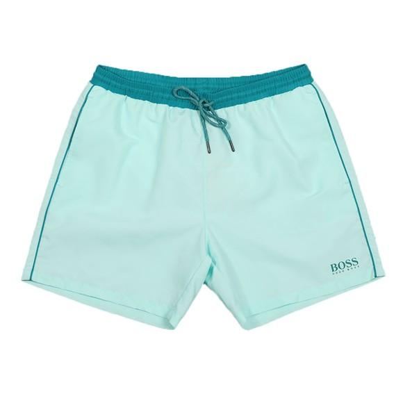BOSS Mens Green Starfish Swim Short main image