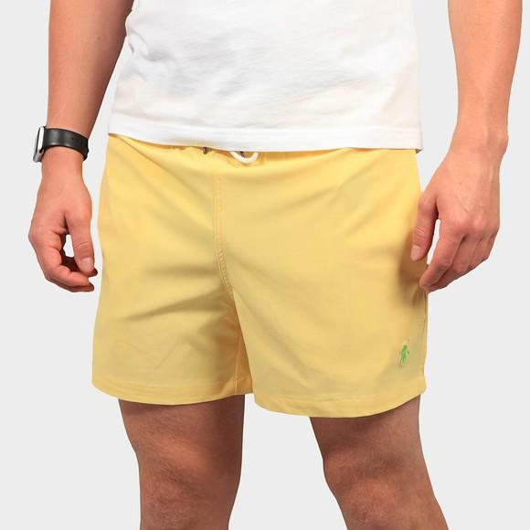 Polo Ralph Lauren Mens Yellow Traveller Swim Short