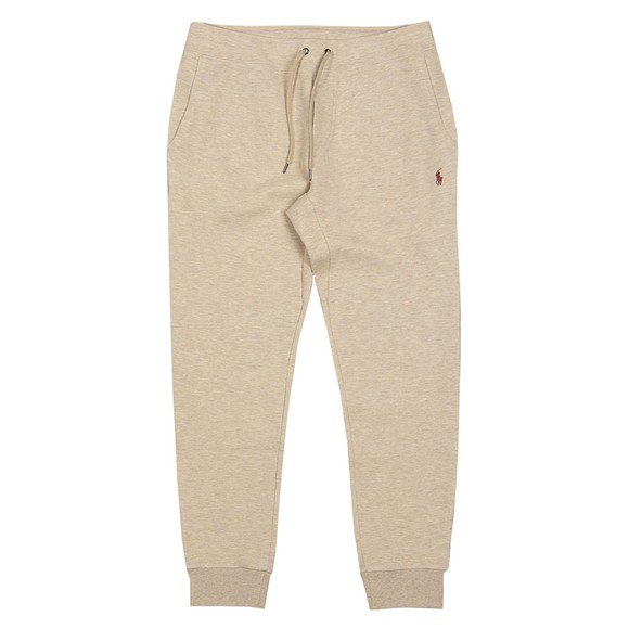 Polo Ralph Lauren Mens Beige Double Knit Tech Jogger
