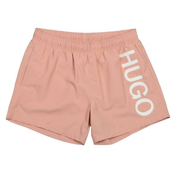 HUGO Mens Pink Abas Swim Short
