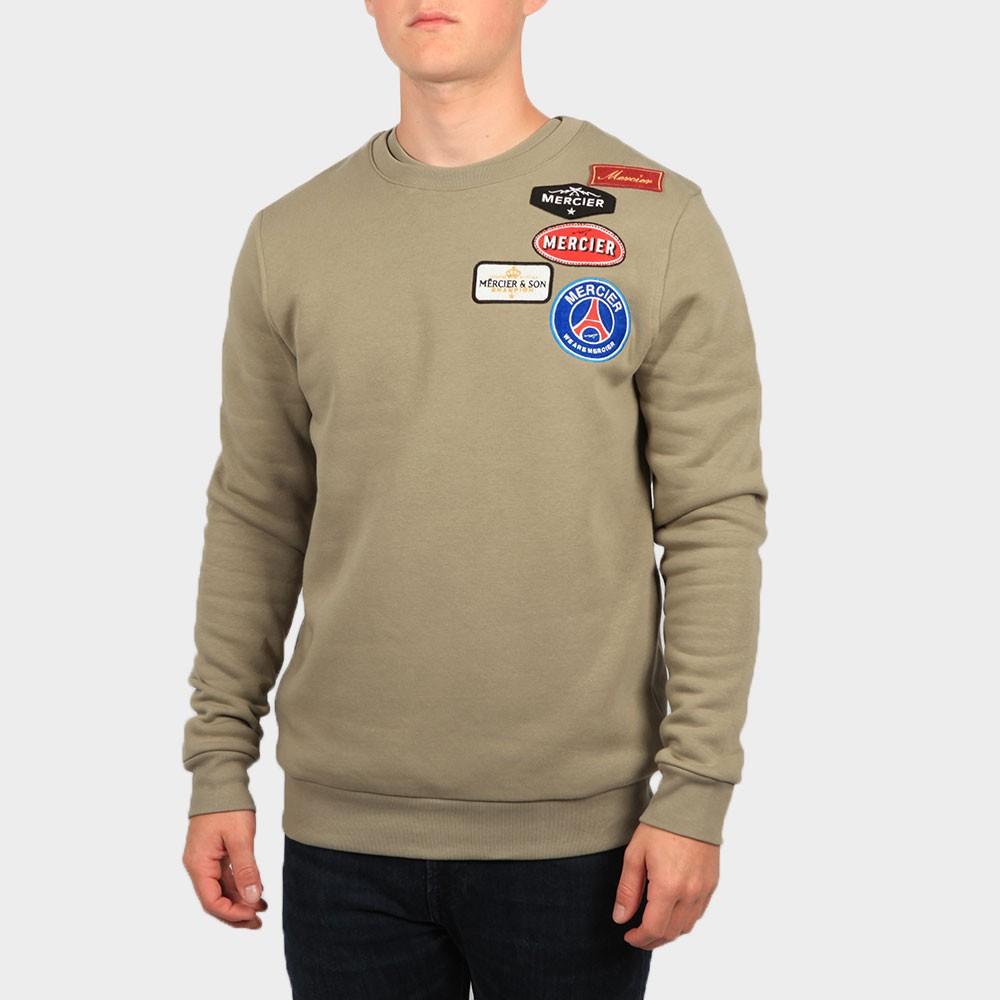 Badge Crew Sweatshirt main image