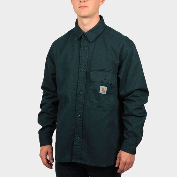 Carhartt WIP Mens Green Reno Shirt