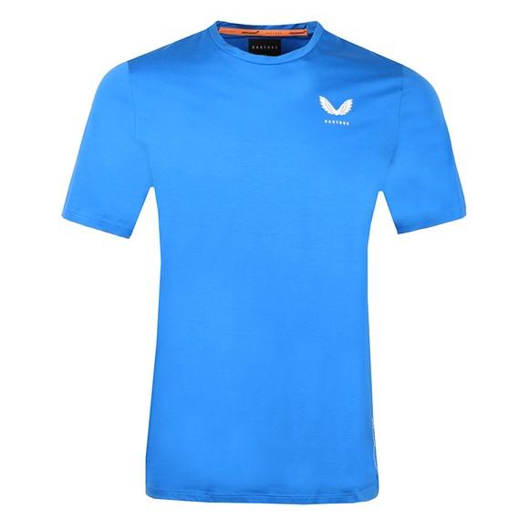 Castore Mens Blue McLaren Lifestyle T-Shirt main image