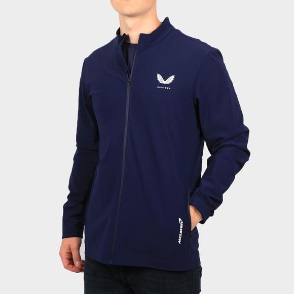 Castore Mens Blue McLaren Lightweight Jacket