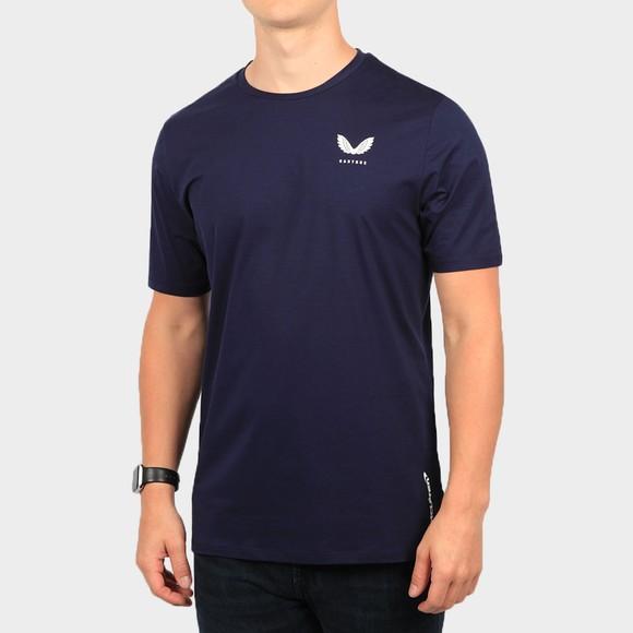 Castore Mens Blue McLaren Lifestyle T-Shirt