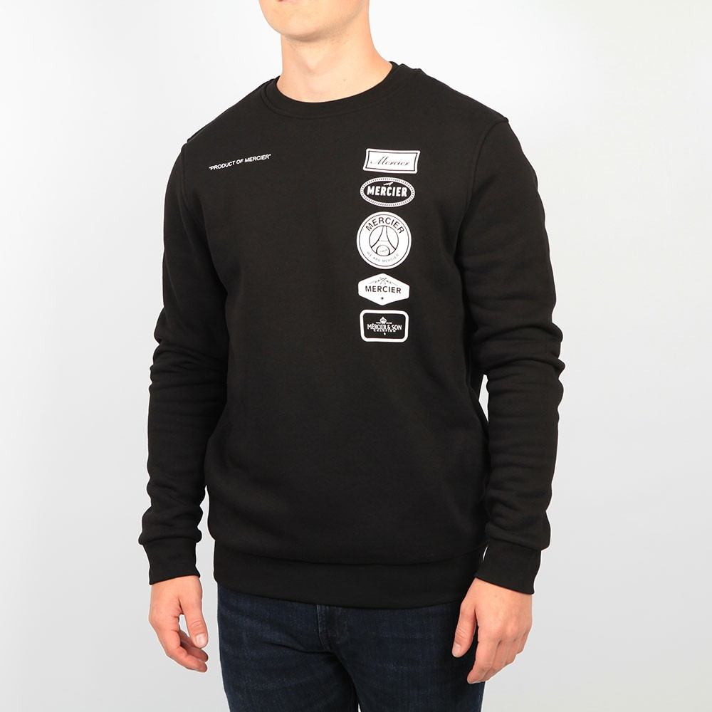 Printed Badge Sweatshirt main image