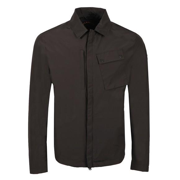 Paul & Shark Mens Blue Typhoon Pocket Zip Overshirt Jacket