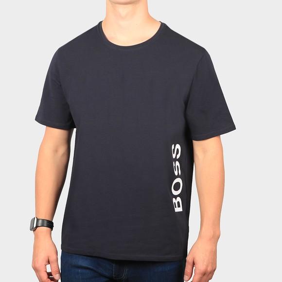BOSS Bodywear Mens Blue Identitt T-Shirt RN