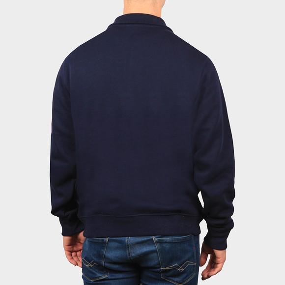 Lacoste Mens Blue SH1927 Half Zip Sweatshirt main image