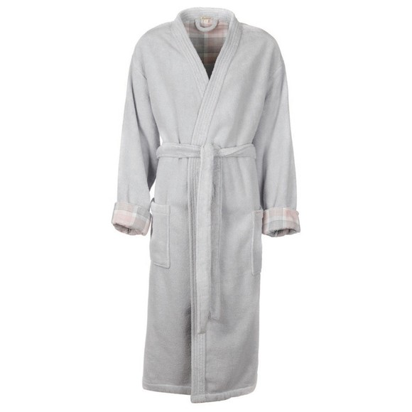 Barbour Lifestyle Womens Grey Ada Dressing Gown