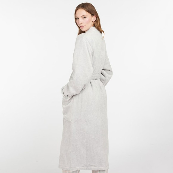 Barbour Lifestyle Womens Grey Ada Dressing Gown main image