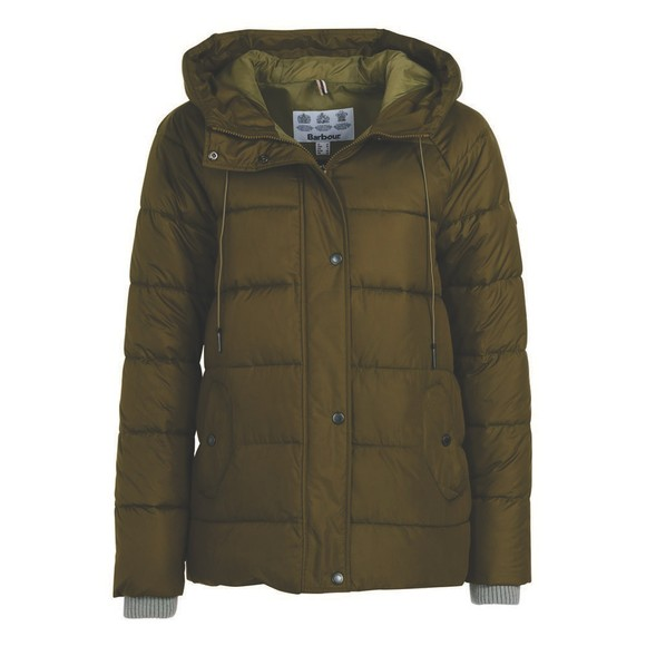 Barbour Lifestyle Womens Green Tidepool Quilt