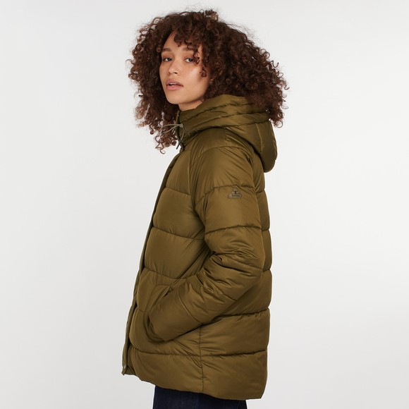 Barbour Lifestyle Womens Green Tidepool Quilt main image