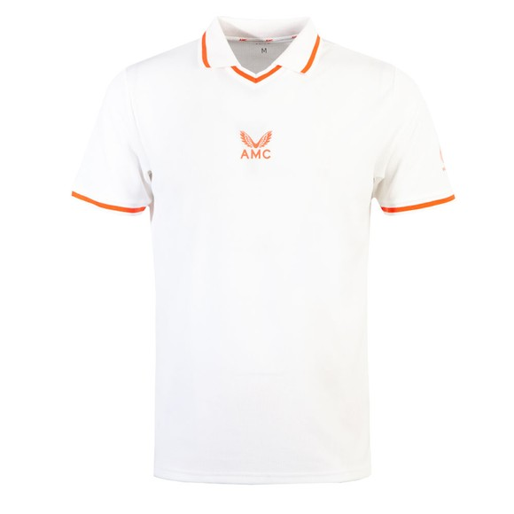 Castore Mens White AMC Playing Polo Shirt main image