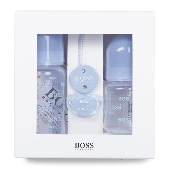 BOSS Baby Boys Blue Twin Bottle & Dummy Set