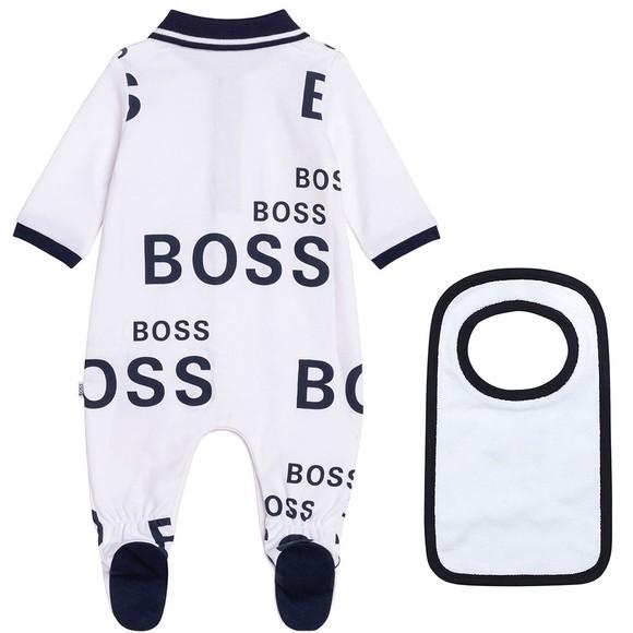 BOSS Baby Boys White J98335 All In One Set