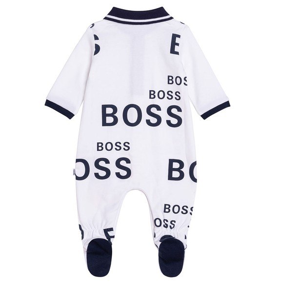 BOSS Baby Boys White J98335 All In One Set main image