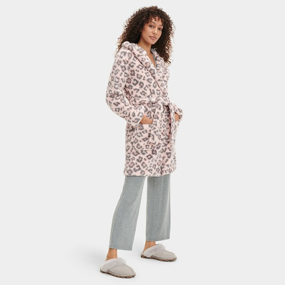Ugg Womens Pink Aarti Dressing Gown