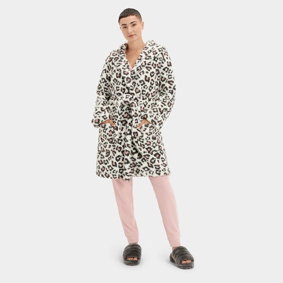Ugg Womens Off-White Aarti Dressing Gown
